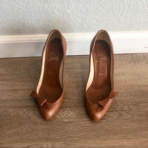 "Christian Louboutin size 37.5 4"" heel pumps"